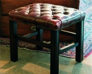 Chippendale High Stool