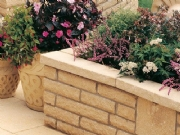 Pitchedstone Walling