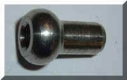stainless steel ball & Shank fitting