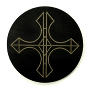 Celtic Cross Hand Crafted Quality Leather Coasters