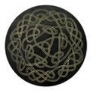 Celtic Knot Hand Crafted Quality Leather Coasters