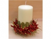 Dried Chilli Candle