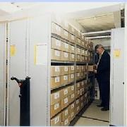 Mobile Shelving for Health and Safety Files