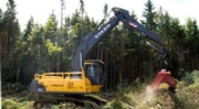 Tracked forestry carriers
