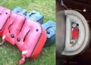 Inflatable Jet Intake Covers