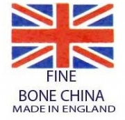 Union Jack Fine Bone China / Made in England Back stamps