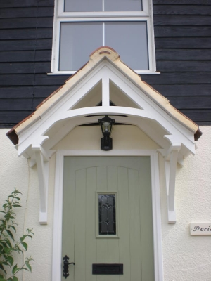 cottage porch designs & Townhouse Products Timber Door Canopies | timber canopy designs ...