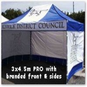 Branded Show Tents
