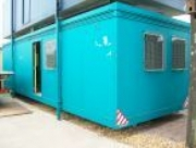Plastic Coated Steel Portable Twin Office