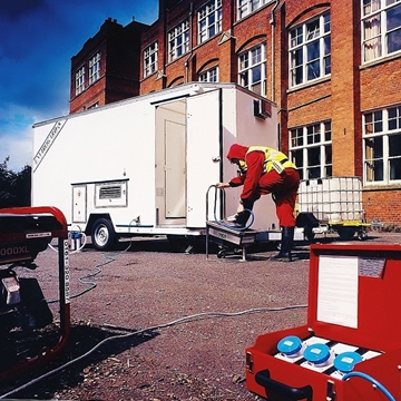Hire Envirogard Self-Contained Decontamination Showers
