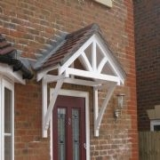 Custom made door canopies : timber front door canopy - memphite.com