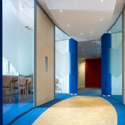 Curved Partitioning Systems