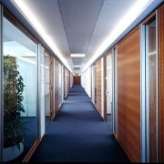 Demountable Office Partitioning