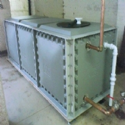 Fiberglass Water Tanks | Supplied | Installed