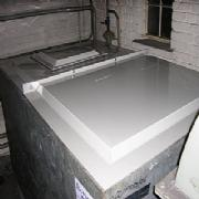 Water Tank Lids Installation