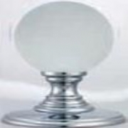Delamain Frosted Crystal Ball Knob