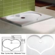'Love Me' Shower Tray (481)