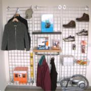 Grid Panel Display System for Retailers