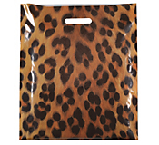 Animal Print Plastic Carrier Bags