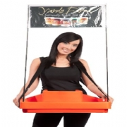 Advertising Banner Ice Cream Tray
