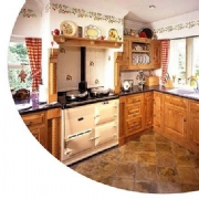 Natural Pippy Oak Country Kitchen
