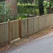 cleft chestnut fencing, Hampshire