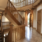 Bespoke gothic staircase