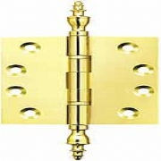 Ball Race Brass Finial Projection Hinges