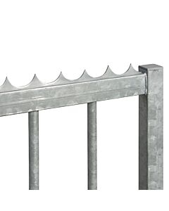 Gate Security Spikes