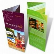 Trifold Leaflets (A4 folded twice, 'Z' or 'Roll' fold)