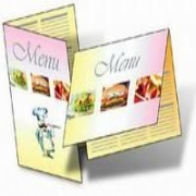 Encapsulated Restaurant Card Menus