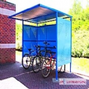 Bike Rack Shelters