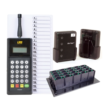 Waiter Pagers System for Restaurants and Hotels