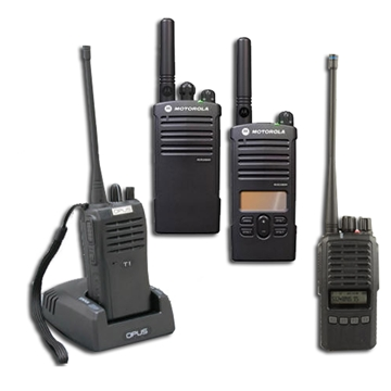 Two Way Wireless Radios and Walkie Talkie - Licenced and License free