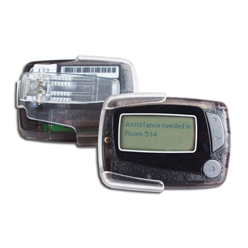 Alpha Pagers, text pagers, staff pagers, communications