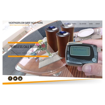 Yacht Pagers for large Yachts and Liners Monitoring Systems for Yachts