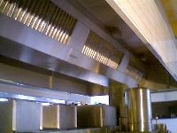 Canopies with Baffle Fileters
