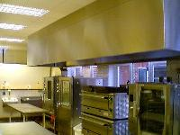 Canopies with Grease Collecting Tray