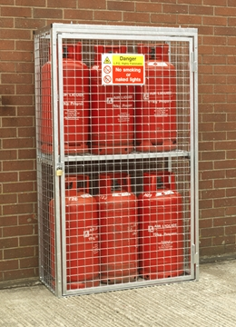 Gas Cylinder Cage for 6 x 19kg Cylinders