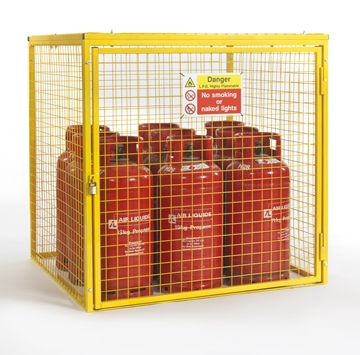 Gas Cylinder Cage for 9 x 19kg Cylinders