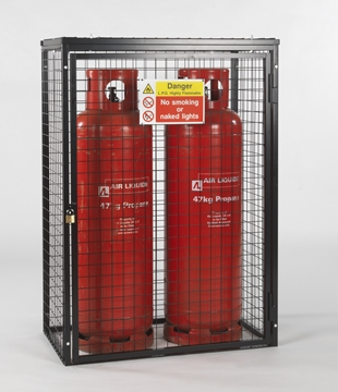 Gas Cylinder Cage for 2 x 47kg Cylinders