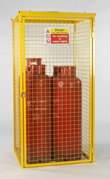 Gas Cylinder Cage for 4 x 47kg Cylinders