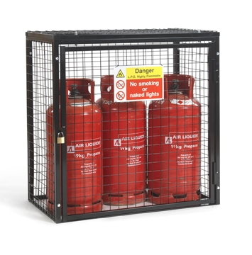 Gas Cylinder Cage for 3 x 19kg Cylinders