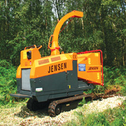 """8"""" Tracked Chipper Hire"""