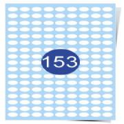153 Labels Per Page Gloss Inkjet Labels