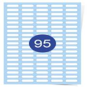 5 across x 19 Down Gloss Laser Labels