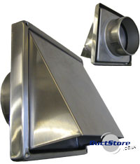Stainless ventilation Cowls