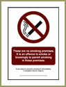 Offence to Smoke Sign