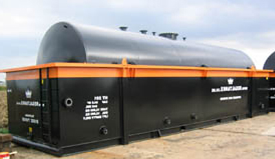 Open Bunded Tanks For Hire