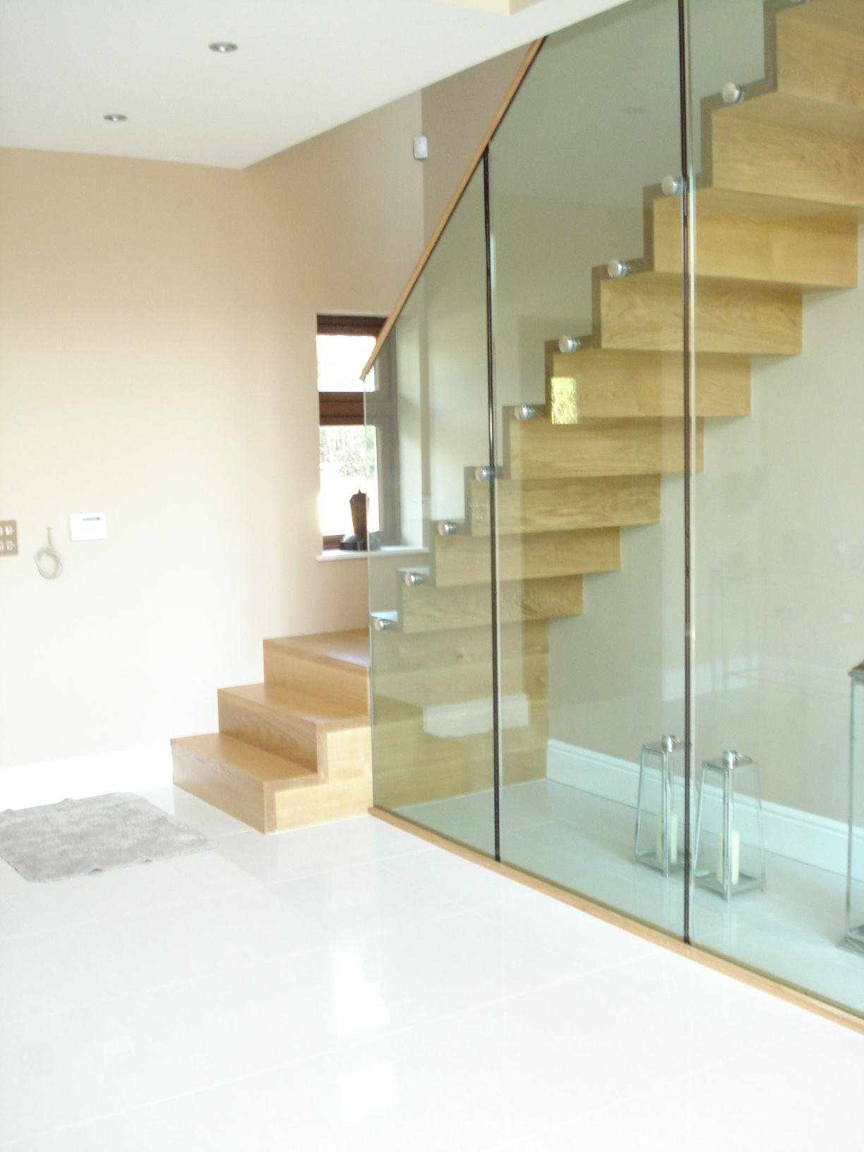 Bespoke modern style staircase